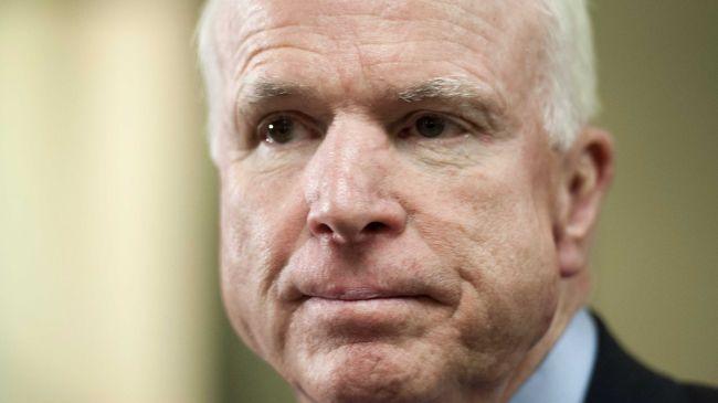 US Senator John McCain (R-Arizona)